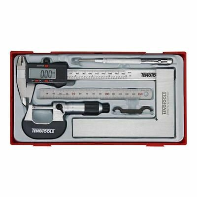 TTTCM05D TENG Measuring Kit 5 Pce Set - Digital Vernier calliper micrometer Rule