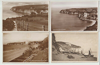 Beer Devon 4 x PCs pubs Perry Aero Pictorial Salmon 1 posted 1914 3x unposted