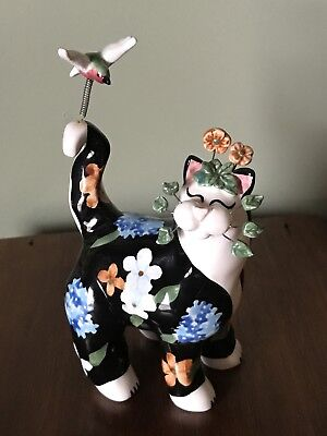 Annaco Creations Painted Cat 2003 Collectible