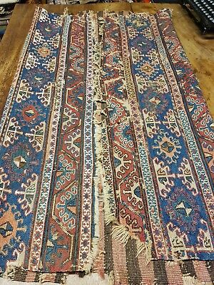 Collectable old Persian kilim rug wall decor home decor collectors item