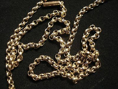 HM SOLID 9 CT GOLD CHAIN (52cm Length)