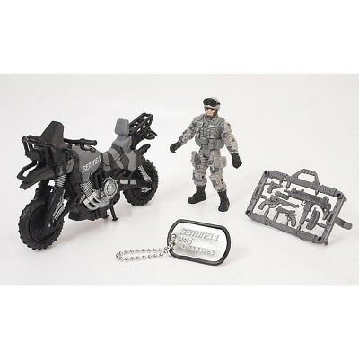 True Heroes Sentinel 1 Action Figure and Vehicle - Wolf - Motorbike. Toys R Us
