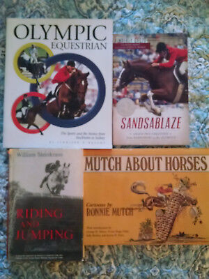 6 Equestrian, Show Jumping, Olympic Horse Books