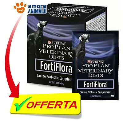 Purina Pro Plan Veterinary Diet FortiFlora Cane 30x1 gr - Benessere intestinale