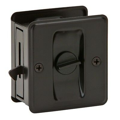 (1 Pack, Oil Rubbed Bronze) - Ives by Schlage 991B-613 Sliding Door Pull