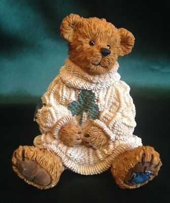 Boyds Bearstone Collection - Conner O'shea - Irish At Heart