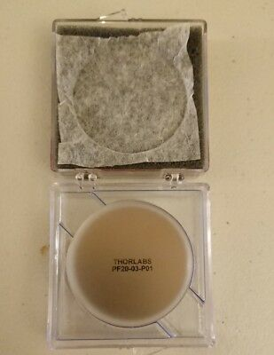 """AS IS Thorlabs PF20-03-P01 Ø2"""" Protected Silver Mirror"""