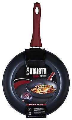 Bradshaw International 07441 Simply Italian Saute Pan, Non-Stick Aluminum,