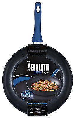 Bradshaw International 07442 Simply Italian Saute Pan, Non-Stick Aluminum,12-In.