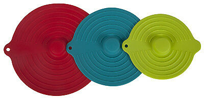 Core Home 12231-TV Silicone Suction Lid 3PC Set
