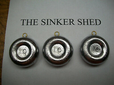 FREE SHIPPING 1 oz river coin sinkers quantity of 12//25//50//100//200