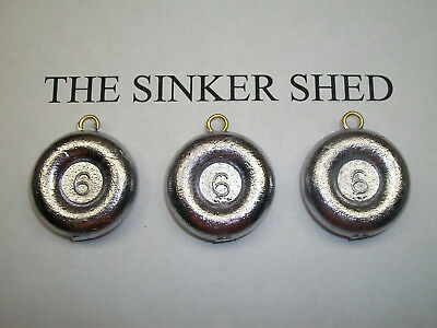 "25 6oz Slip No Roll Sinkers slip sinkers decoy weights /""FREE SHIPPING/"""