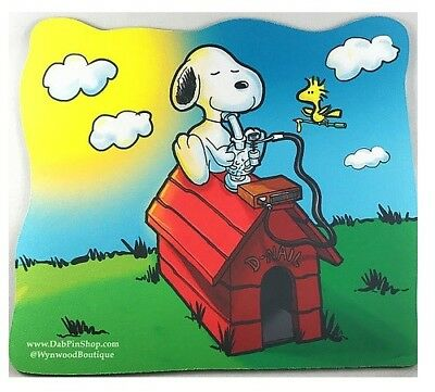 Snoopy Style Dab Pad  Oil Absorbent DabPad Dab Mat Mouse Pad