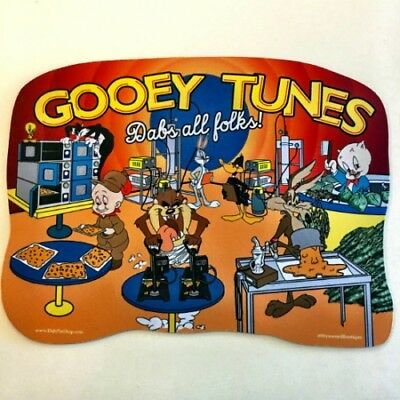 Gooey Tunes Dabs All Folks Style Dab Pad  Oil Absorbent DabPad Dab Mat Mouse Pad