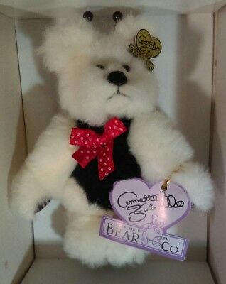 Annette Funicello Razzbeary Blizzard Mohair Bear Bean Bag Collection Great Varieties Dolls & Bears
