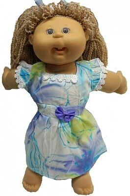 Pastel Colour Dress For Cabbage Patch Kid Dolls. Doll Clothes Super store