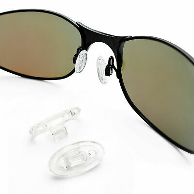 PapaViva Crystal Clear Replacement Nose Piece Holder For-Oakley Whisker Sunglass