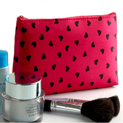 Women Waterproof Organizer Pouch Cosmetic Bag Storage Pouch Makeup Case