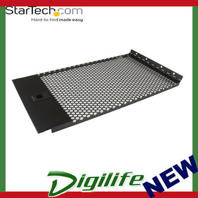 StarTech Vented Blank Panel with Hinge for Server Racks - 6U RKPNLHV6U