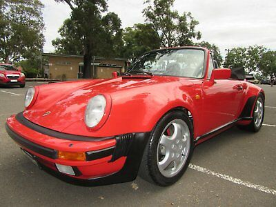 Porsche 911 Convertible Factory Wide Body Aust Delivery Matching Numbers Originl