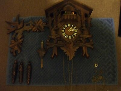 Wooden Cuckoo Clock - German Edwin Jager