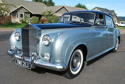 1959 Rolls-Royce Silver Cloud Limousine like without Driver Division 1959 Rolls-Royce Silver Cloud 1 Long Wheel Base Without Division Left Hand Drive
