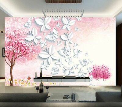 Lucky Habitual Tree 3D Full Wall Mural Photo Wallpaper Printing Home Kids Decor