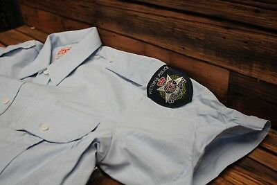 Obsolete Victoria Police Shirt Australian Australia Sheriff's Badge Patch New