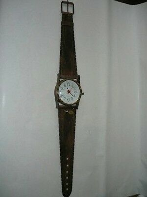 Wall clock wrought iron STRAP WRIST