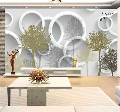 Simple Pulpy Leaf 3D Full Wall Mural Photo Wallpaper Printing Home Kids Decor
