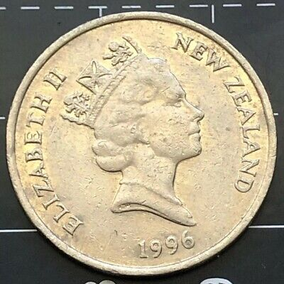 1996 New Zealand 10 Cent Coin