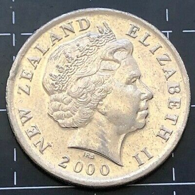 2000 New Zealand 10 Cent Coin