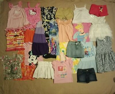 Girls clothes size 4 ..bulk pack  24 items Inc Disney Bardot and Ralph Lauren