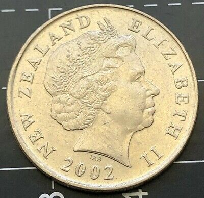 2002 New Zealand 10 Cent Coin