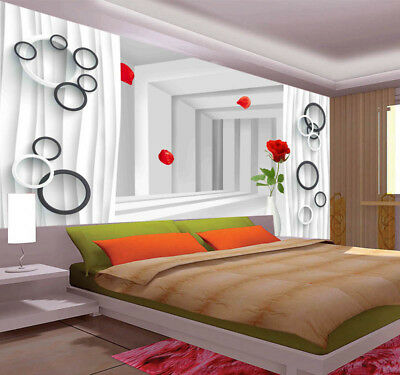 Remote Pulpy House 3D Full Wall Mural Photo Wallpaper Printing Home Kids Decor