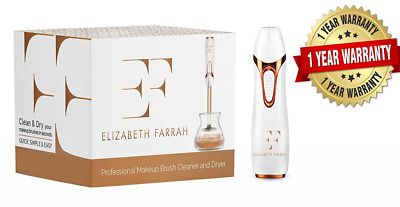 Makeup Brush Cleaner and Dryer by Elizabeth Farrah - Professional Auto Electric