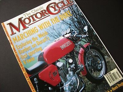 Triumph T110/tr6  The Classic Motorcycle Magazine March 2001