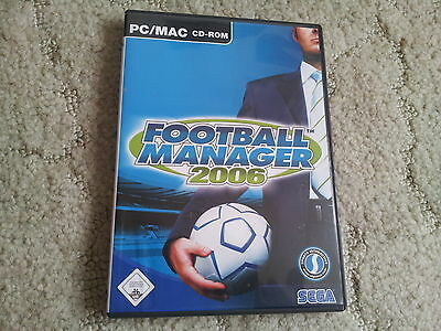 Football Manager 2006 für PC/MAC