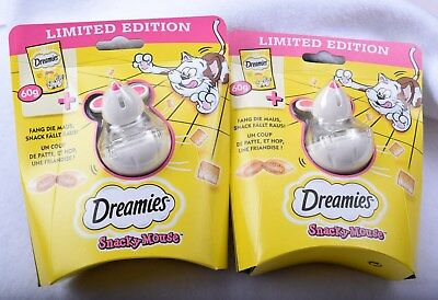 2 x Dreamies Snacky Mouse - Limited Edition