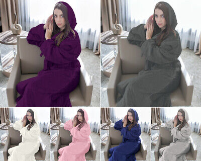 100% Luxury Egyptian Cotton Toweling Bath Robe Unisex Dressing Gown Terry Towel