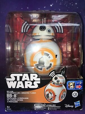 STAR WARS - THE FORCE AWAKENS - RIP - N - GO BB-8 FIGURE with AUTHENTIC SOUNDS