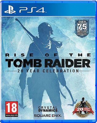 PS4 Rise of the Tomb Raider 20 Year Celebration Unopened Nib Playstation 4