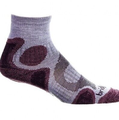 (Small, Blue) - Bridgedale Coolfusion Trail Diva Women's Sock. Brand New