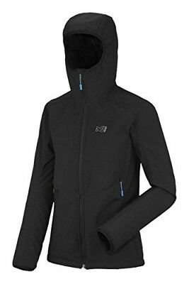 (FR : XS (Taille Fabricant : XS), Black / Black) - Millet shuksanhl Hooded