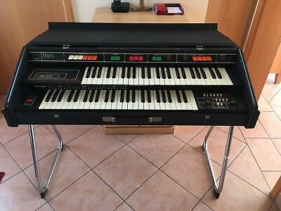 EKO TIGER P106 Vintage Analogue Organ Orgel incl. stand and pedals