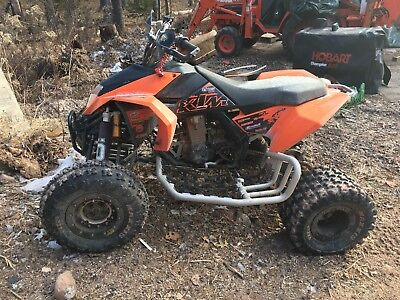 KTM 525 EXC ATV 2008 rare, in excellent preowned condition, loaded