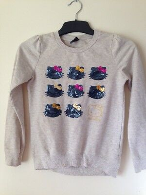 Girls Hello Kitty Jumper Age 10 To 11 Years🌹