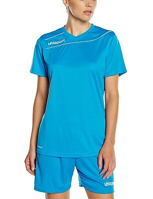 (FR : XS (Taille Fabricant : XS), Blue - Cyan/blanc) - Uhlsport STREAM 3