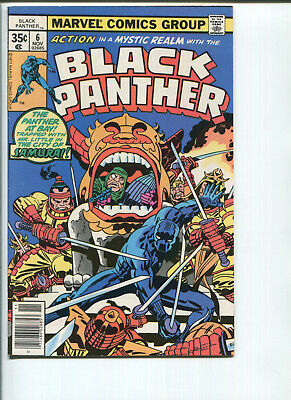 Black Panther #6 (1977-Jack Kirby)