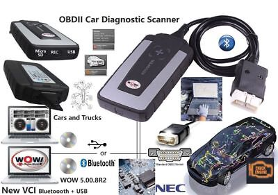 Wow 5.0.8 Francais + R.2015 New Vci Voiture 2015 Inclus Obd Diag China Clone